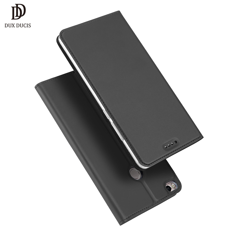 DUX DUCIS Flip Case for Xiaomi Mi Max 2 PU Leather TPU Soft Bumper Protective Card Holder Wallet Stand Cover Mobile Phone Bag