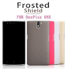 Обложка чехол для OnePlus ОДИН A0001 NILLKIN Супер Матовое Щит с защитой бесплатно экраном и пакет