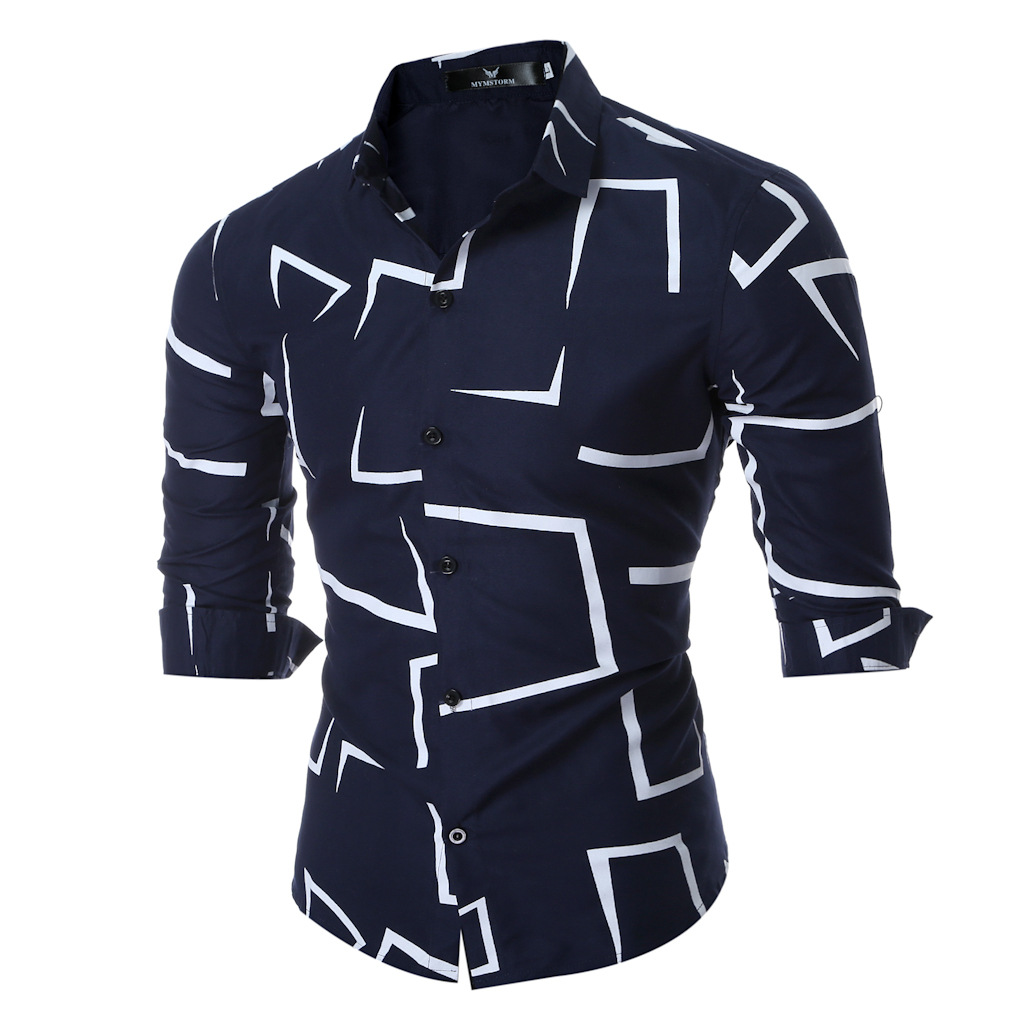 Styles of dress shirts