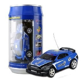 Free shipping Coke Can Mini RC Radio Remote Control Micro Racing Car