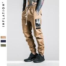 Инфляции мужчины бегунов Pantalon Monos Мужчины лодыжки длина Pantalon prinitng мужчины Jogger Pantalon 220W17