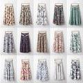 2017 Hot Sale Bohemia Women Skirt Spring Summer Lady Skirt Women 14 Styles Free shipping