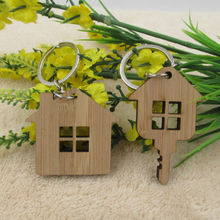 Wooden Key Chain House Design