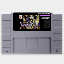 O Beijo do Castlevania Vampiro NTSC Grande Cinza de 16 bits Cartão de Jogo Para OS EUA Versão Jogador Do Jogo