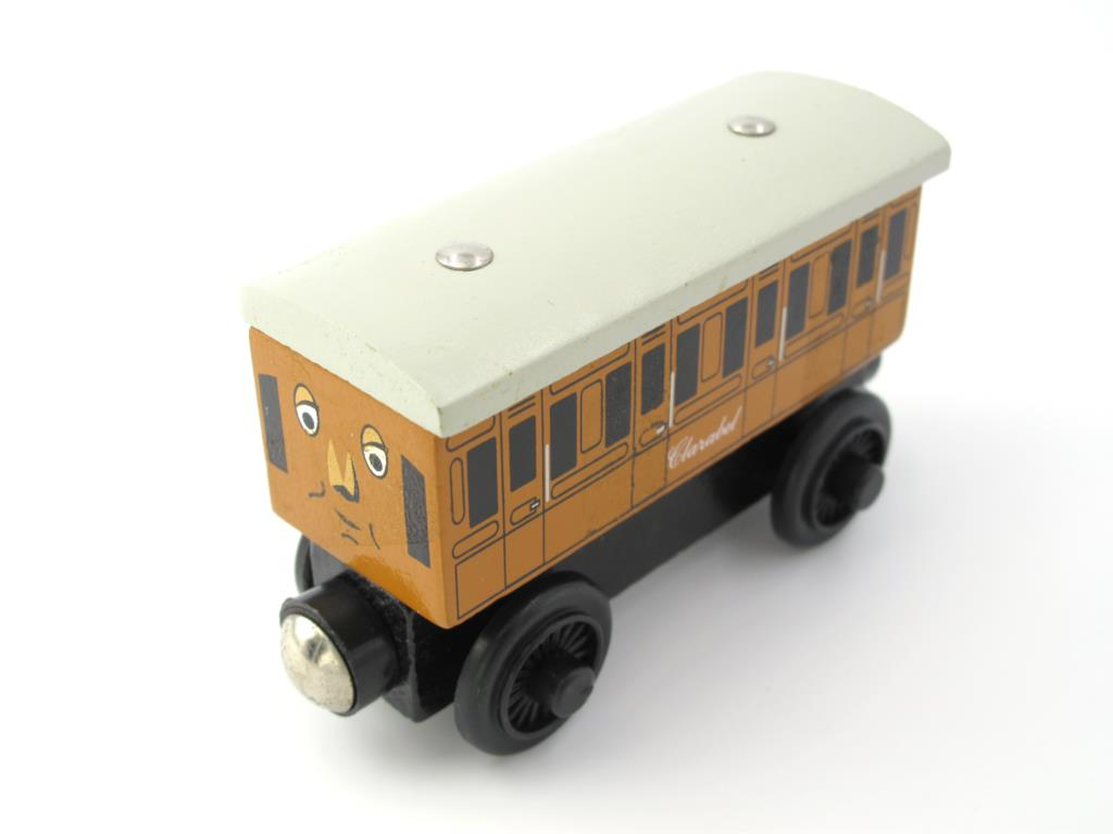 Wooden Thomas Train T027W CLARABEL Thomas And Friends Trackmaster Magnetic Tomas Truck Locomotive Engine Railway Toys for Boys