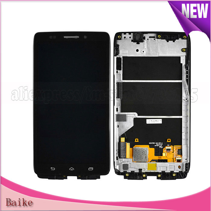 Front glass lcd screen assembly repair touch screen with frame black