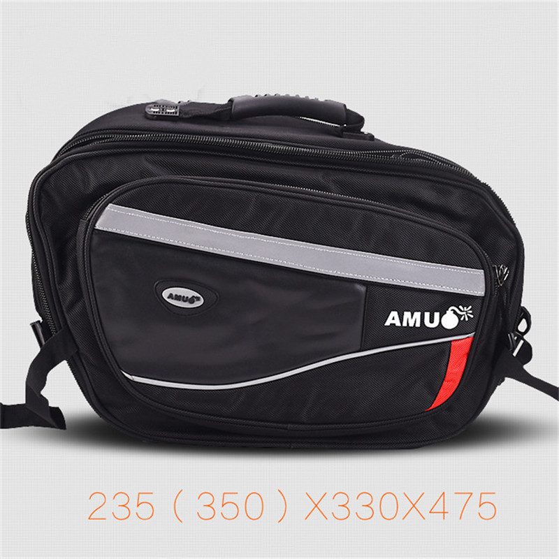 Motorcycle Bag Waterproof Saddlebags Motorbike Saddle Bags Single Shoulder Bag Motorcycle Backpack Long-distance Travel Bags free shipping motorcycle bag kit knight rider motorcycle saddle bag leather saddlebags black goods saddle bags