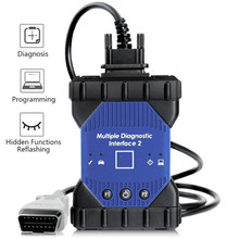 New MDI II Multiplexer Diagnostic Interface with Wifi Card Support Diagnosis Programming and Flashing Without Software