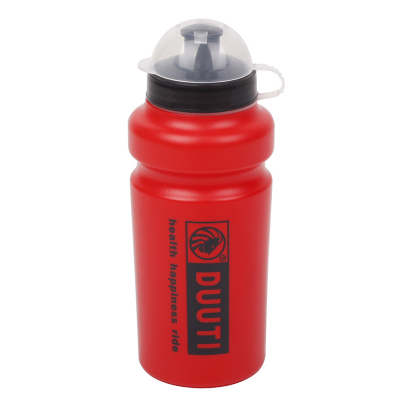 DUUTI bicycle sport water bottle bicycle kettle bicycling hiking camping bottles water sports kettles for mountain bike Red