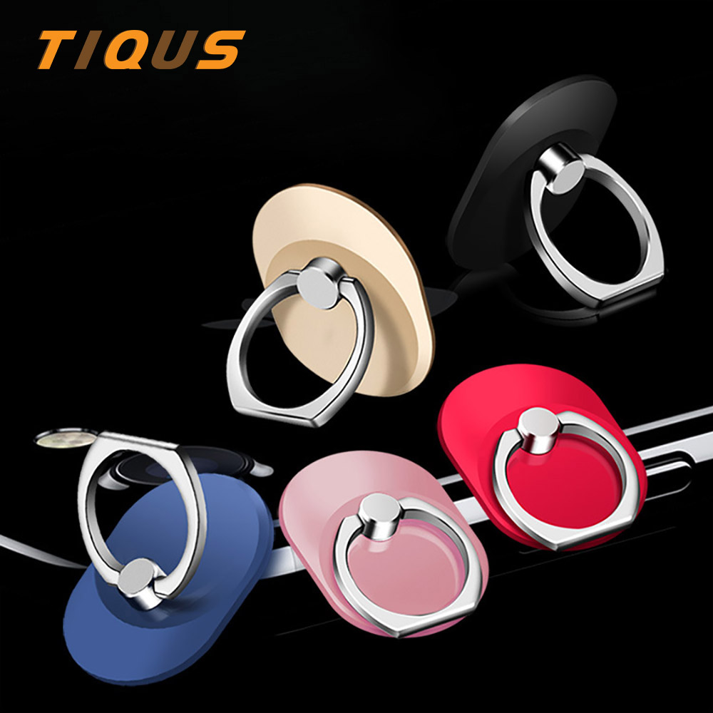 TIQUS Finger Holder Ring Mobile Phone Smartphone Stand For iPhone X 8 7 6 6S Plus Cell