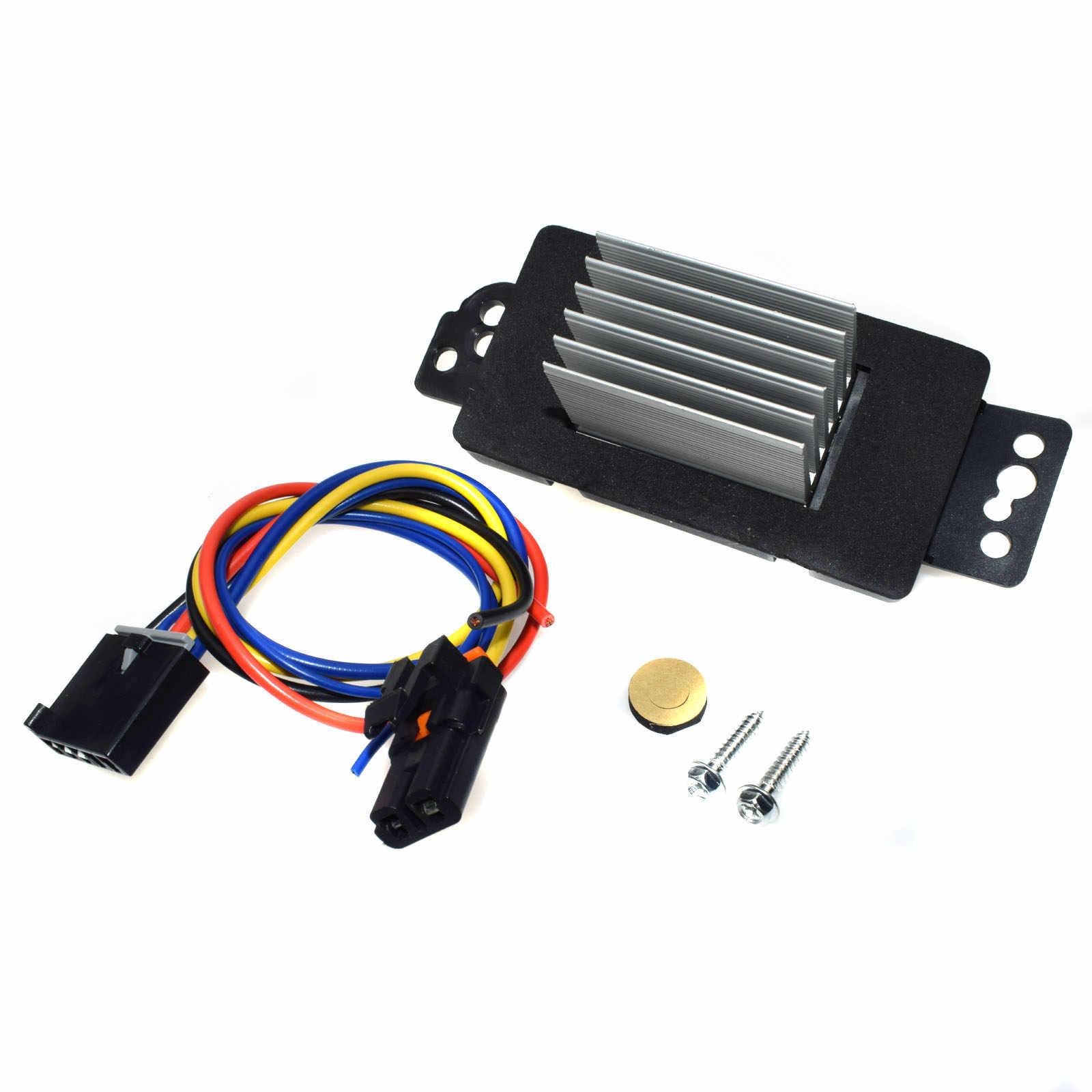 Wolfigo Новый ОВКВ электродвигатель вентилятора резистор с пучок штепселя 15850268 22754990 RU359 1580888 для резистор для Шевроле Понтиак Impala Buick