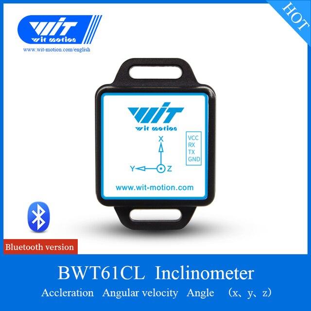 3 axe Bluetooth Numérique Angle Accéléromètre Module MPU6050 Gyro Gyroscope Vibrations Arduinos Capteur BWT61CL Soutien PC Android