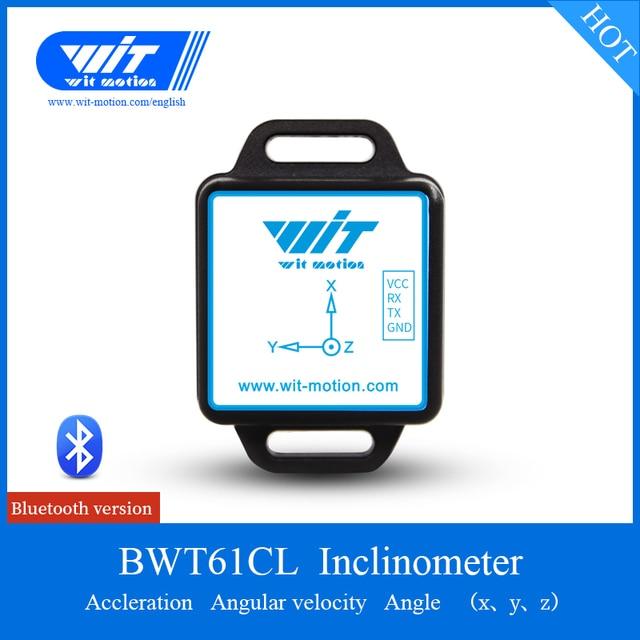 Bluetooth 2 axes Angle d'inclinaison et mesure de Vibration accéléromètre gyroscope MPU6050 Module capteur Arduinos BWT61CL Support PC/Android/MCU