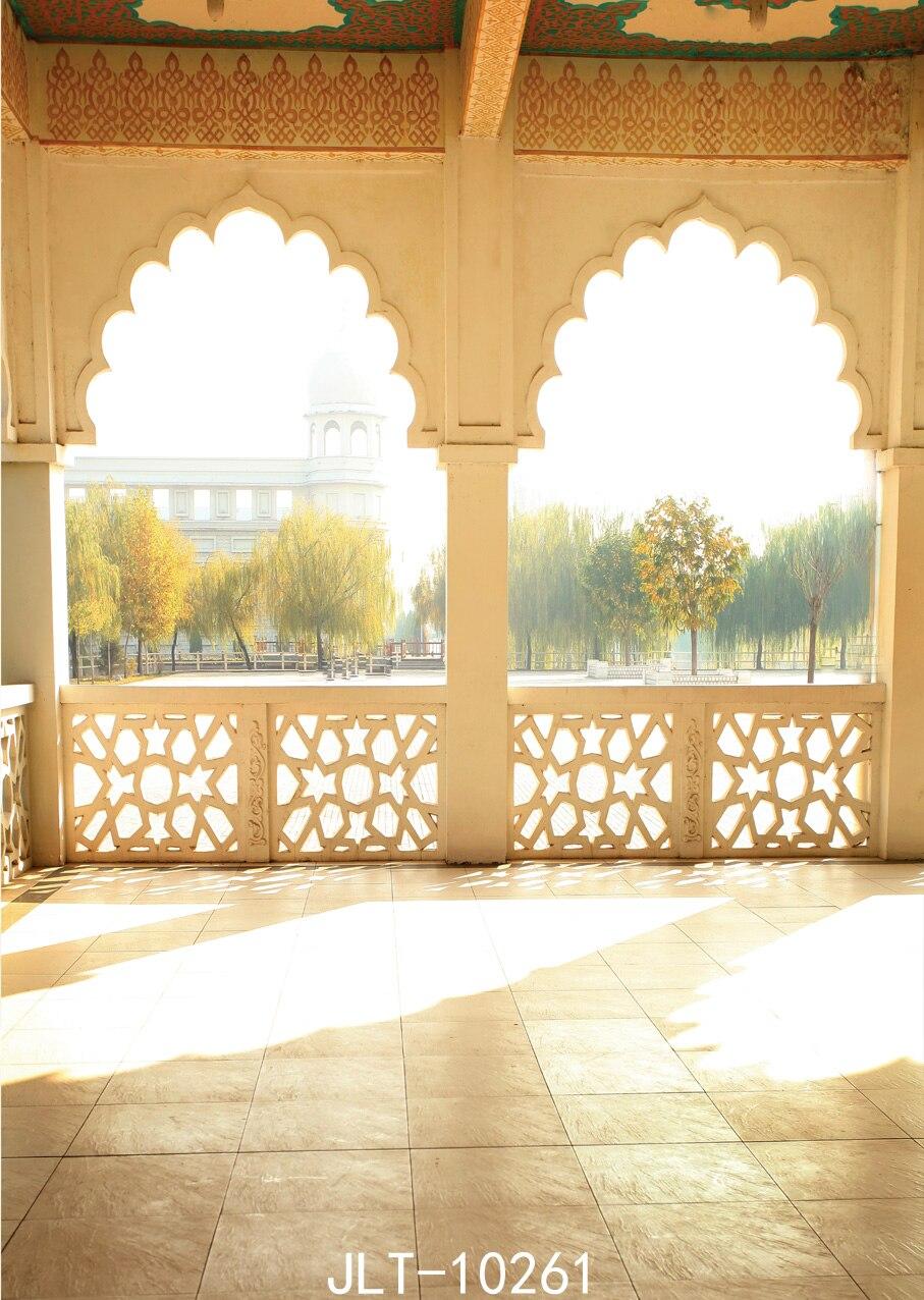 Musulman style architectural photographie-studio-toile de fond fond studio photo vinyle milieux pour photo studio
