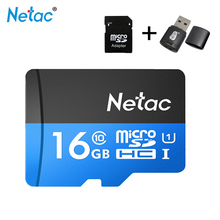 Netac p500 Micro sd card 16gb 32gb 64gb 128gb class10 compact flash monitor sd card free shipping Karte TF-Karte tablet suntrsi