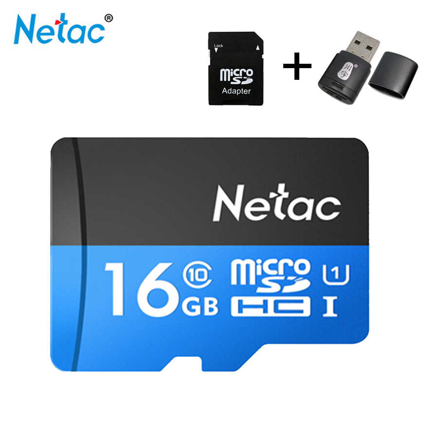 Micro Sd Karte 32gb.Netac P500 Micro Sd Card 16gb 32gb 64gb 128gb Class10 Compact Flash Monitor Sd Card Free Shipping Karte Tf Karte Tablet Suntrsi