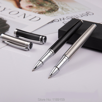 Hot sell  High Quality Business Contact Stainless Metal Ballpoint Pens for Office Supplies for writting Free shipping 6873 socket wrench