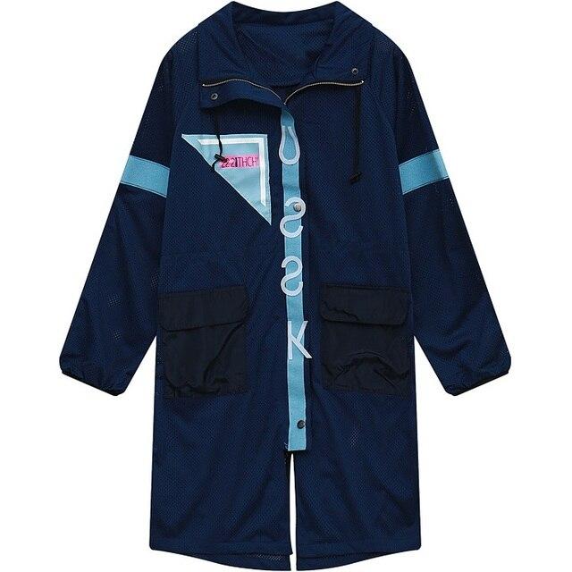 2016 Новых Женщин Длинный Жакет для Женщин Лето Street Style Ярусного Дизайн Джерси Рубашка Куртки Женская Мода HARAJUKU Верхняя Одежда