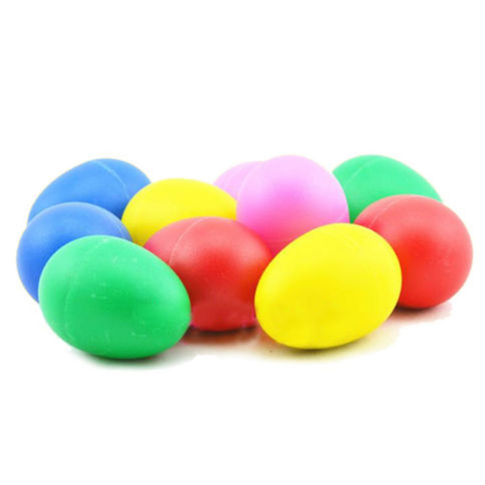 Colorful Early Learning Percussion Maracas Shakers Musical Egg Great Baby Toddler Children Toy 5 Colors