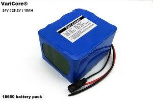 Image 2 - 24 V 10 Ah 6S5P 18650 Batterij Lithium Batterij 24 V Elektrische Fiets Bromfiets/Elektrische/Lithium Ion Batterij pack + 25.4V 2A Charger