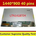 "14.1 ""LCD матрицы LTN141BT04 LP141WP2-TLB1 LP141WP2 TLB1 ДЛЯ lenovo thinkpad t400 r400 notbook замена экрана 1440*900 40pin"