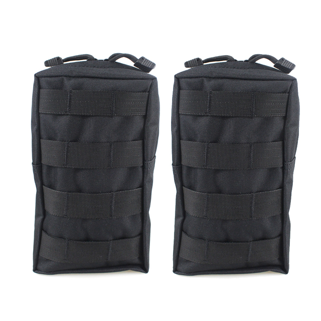 2f86c28b5806 2PCS Tactical Molle Pouches EDC Utility Pouch Gadget Gear Bag Military Vest  Waist Pack Water resistant Compact Bag-in Hunting Bags from Sports & ...