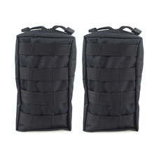 2PCS Tactical Molle Pouches EDC Utility Pouch Gadget Gear Bag