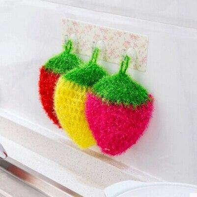 10 db edénymosó szivacs vagy eper étel Konyhai törölközőt ne festessen olajjal. Jó hatástalanító képesség