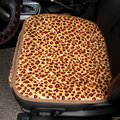 winter Car seat  cushion short plush small piece set leopard print car  Auto  Autumn And Winter Cushion General Auto Supplies