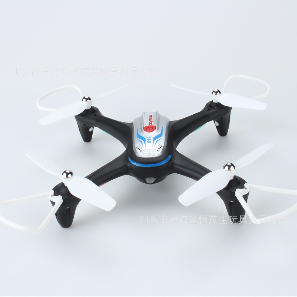 SYMA X15 Mini RC Quadcopter Drone no Camera RTF 2.4GHz 4CH 6-axis Gyro/Altitude Hold/One Key to Take off RC Helicopter mini rc drone 2 in 1 transformable rc quadcopter car rtf 2 4ghz 6ch 6 axis gyro helicopter multi functional outdoor toys