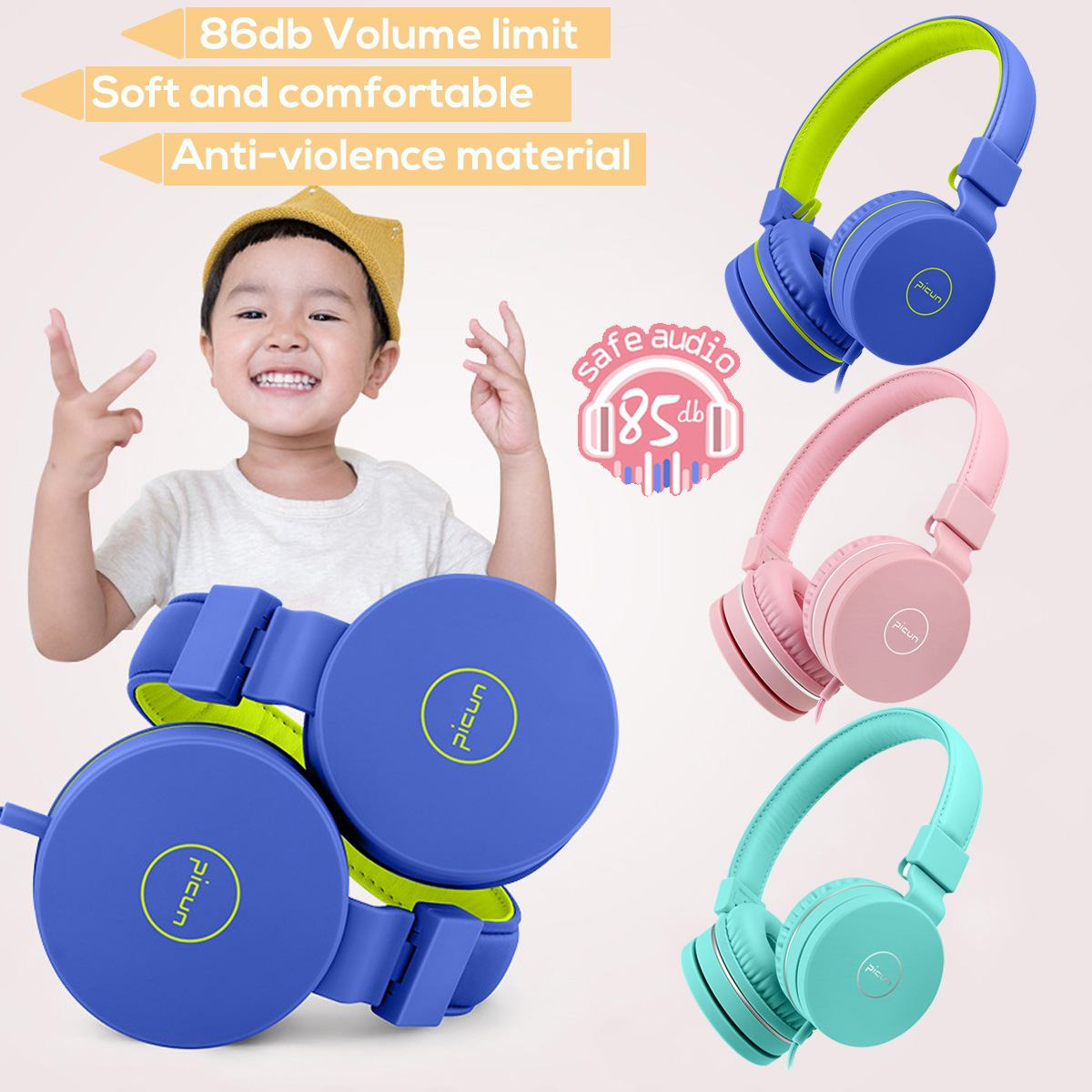 Phones Kids Over-Ear Headphones