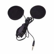 Мотоциклетный шлем Стерео гарнитура MP3 радио динамик для наушников Interphone наушники