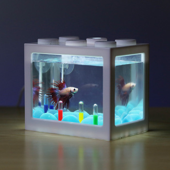 PETFORU Betta fish Fighting Mini Aquarium