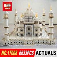 LEPIN 17001 17008 6633Pcs The taj mahal Model Building Kits Brick classic house Architecture Toys for children 10189 Gift