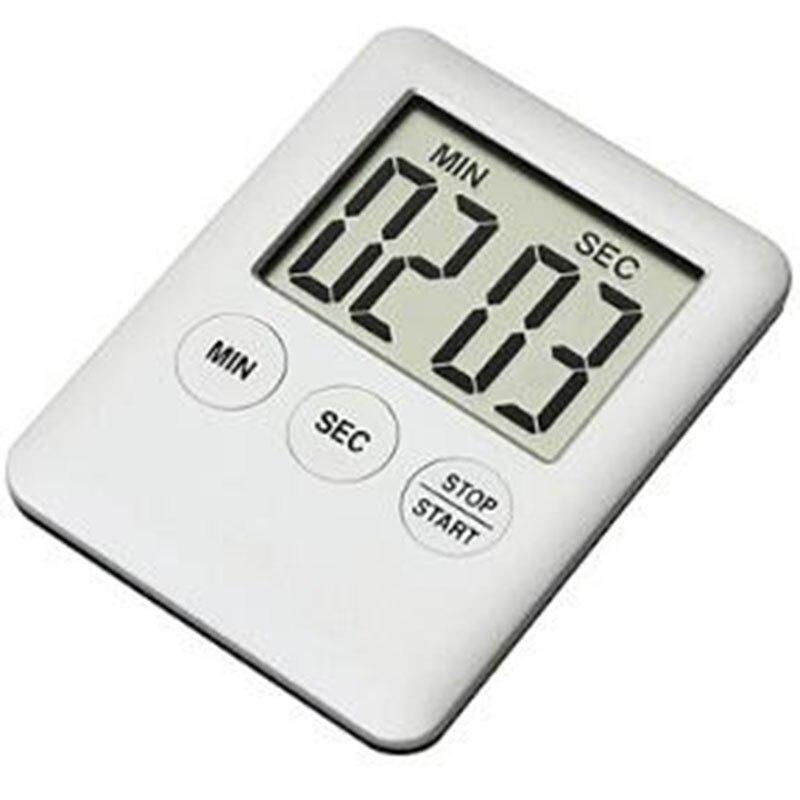 1pc Square Lcd Magnet Digital Timer For
