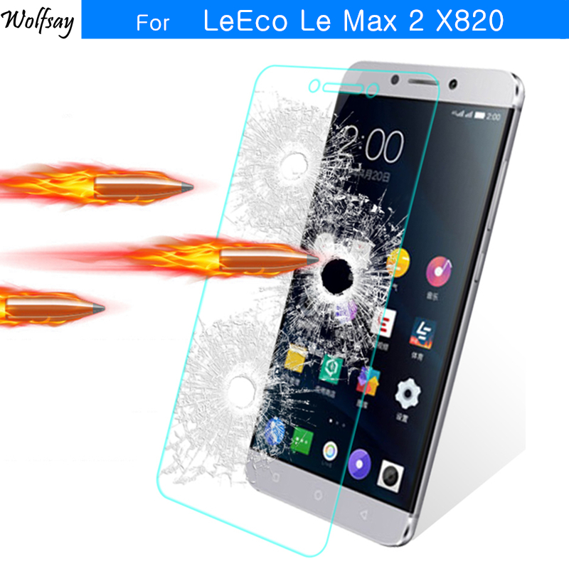 2pcs For Tempered Glass Letv <font><b>LeEco</b></font> Le <font><b>Max</b></font> <font><b>2</b></font> <font><b>Screen</b></font> Protector For Letv <font><b>LeEco</b></font> Le <font><b>Max</b></font> <font><b>2</b></font> Glass <font><b>X820</b></font> X829 Anti-scratch Film Wolfsay image