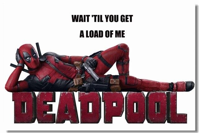 Custom Canvas Wall Decals Funny Deadpool Posters Marvel Deadpool