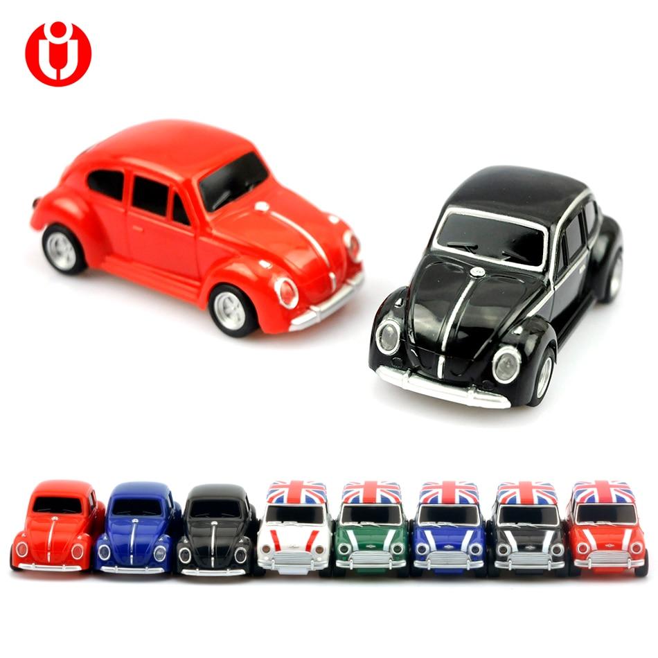 Tollas meghajtó 32gb 64gb, Beetle autó / Mini autók Modell usb - Külső tárhely