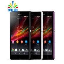 """Разблокированный сотовый телефон sony Xperia Z C6603 5,"""" экран четырехъядерный 2 Гб ОЗУ 16 Гб ПЗУ с камерой 13,1 МП"""
