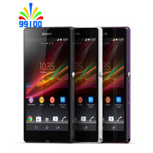 Original Unlocked Sony Xperia Z C6603 cell phone 5.0″screen Quad-Core 2G RAM 16GB ROM with 13.1MP Camera