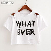 Summer New Women Europe And The United States Wind Short O Collar Shirt Printing Short Sleeved