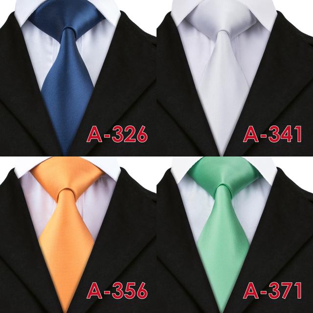 20 Style Solid  Mens Ties
