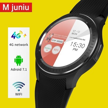 Dm368 Smart Watch 2018 Silicone Watch Android 5.1 3g Connecte Smartwatch Luxury Watches Top Brand Mens Akilli Saatler  - buy with discount