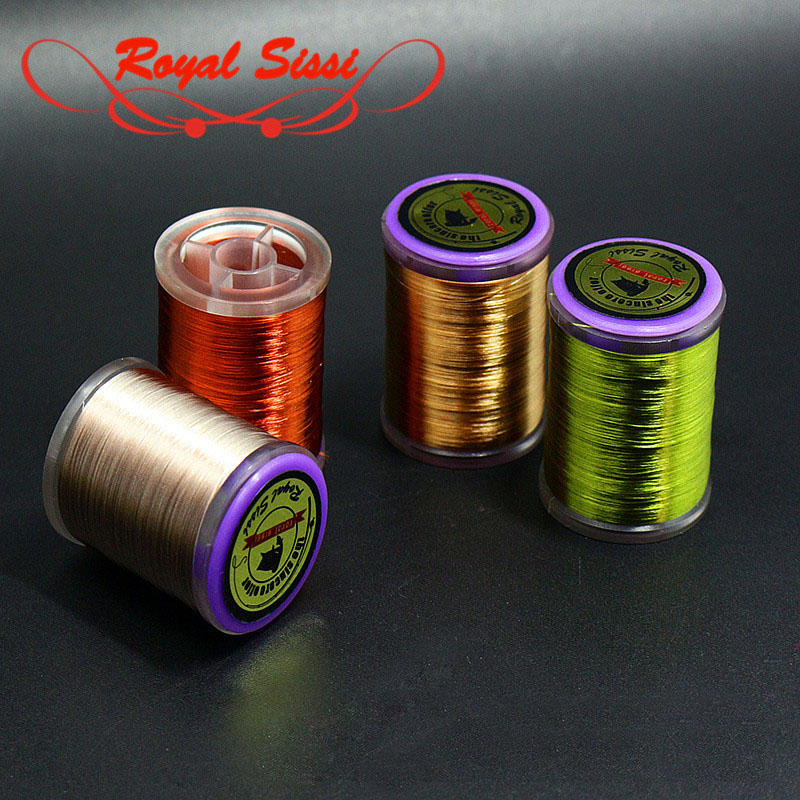 Royal Sissi new 15optional colors 75D high strength fly tying thread with Int'l standard bobbin spool highly waxed tying thread