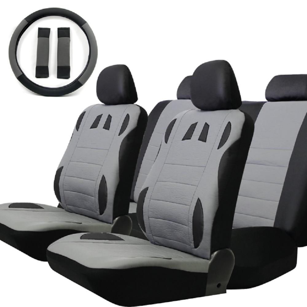 TIROL T20648b Hot Koop Polyester 13 Stks / set Universele Autostoel - Auto-interieur accessoires - Foto 2
