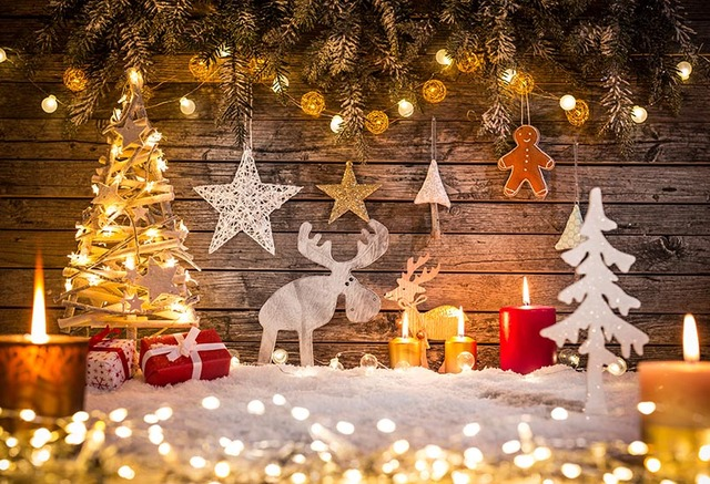 Christmas Party New Year Home Decor Baby Children Photography Backgrounds Custom Photographic Backdrops For Photo Studio