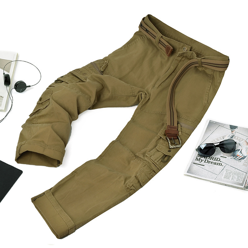 New Vintage Military Tactical Fatigue Pants Combat Men's Cotton Cargo Pants baggy trousers men