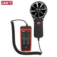 UNI T UT363S Mini Anemometer Wind Speed Temperature Tester LCD Display Air Flow Speed MAX/AVG Measurement Wind Level 1~12