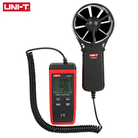 UNI T UT363S Mini Anemometer Wind Speed Temperature Tester LCD Display Air Flow Speed MAX/AVG Measurement Wind Level 1~12
