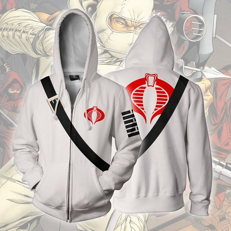 2019 Autumn Winter 3D Print storm shadow Sweatshirts Hoodies Fashion Cosplay Zipper hooded Jacket clothing